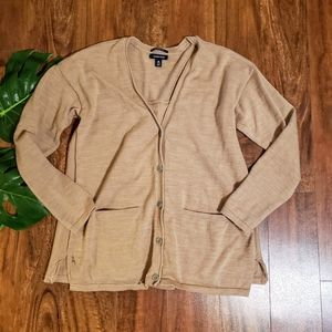 ☀️3/$10☀️ Land's End Merino Wool Cardigan
